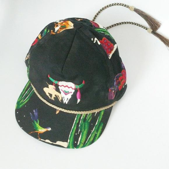 d7228128 Vintage Accessories   8090s Tribal Western Trucker Hat   Poshmark